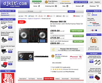 DJ Equipment Finance