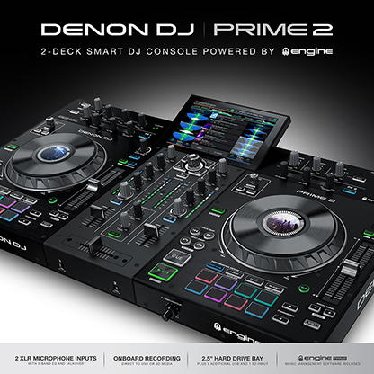 In stock now Denon DJ Prime 2