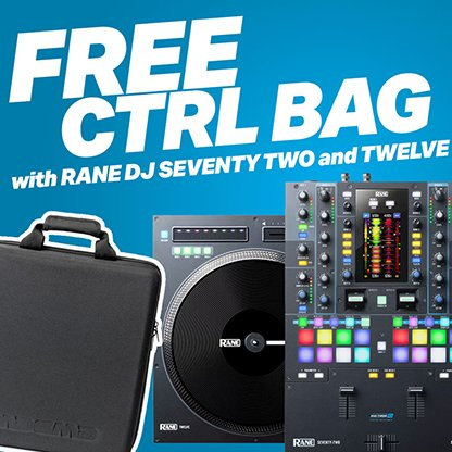 Rane Seventy-Two and Twelve FREE Bag Offer