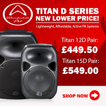 Wharfedale Titan Active Speakers