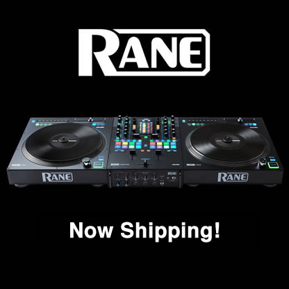 Rane SEVENTY-TWO & TWELVE Shipping April 4th