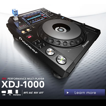 New Pioneer XDJ-1000 Player