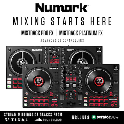 The Mixtrack Platinum FX and Mixtrack Pro FX