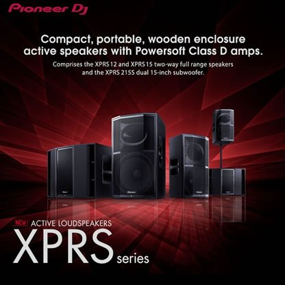 Pioneer XPRS Active Speakers