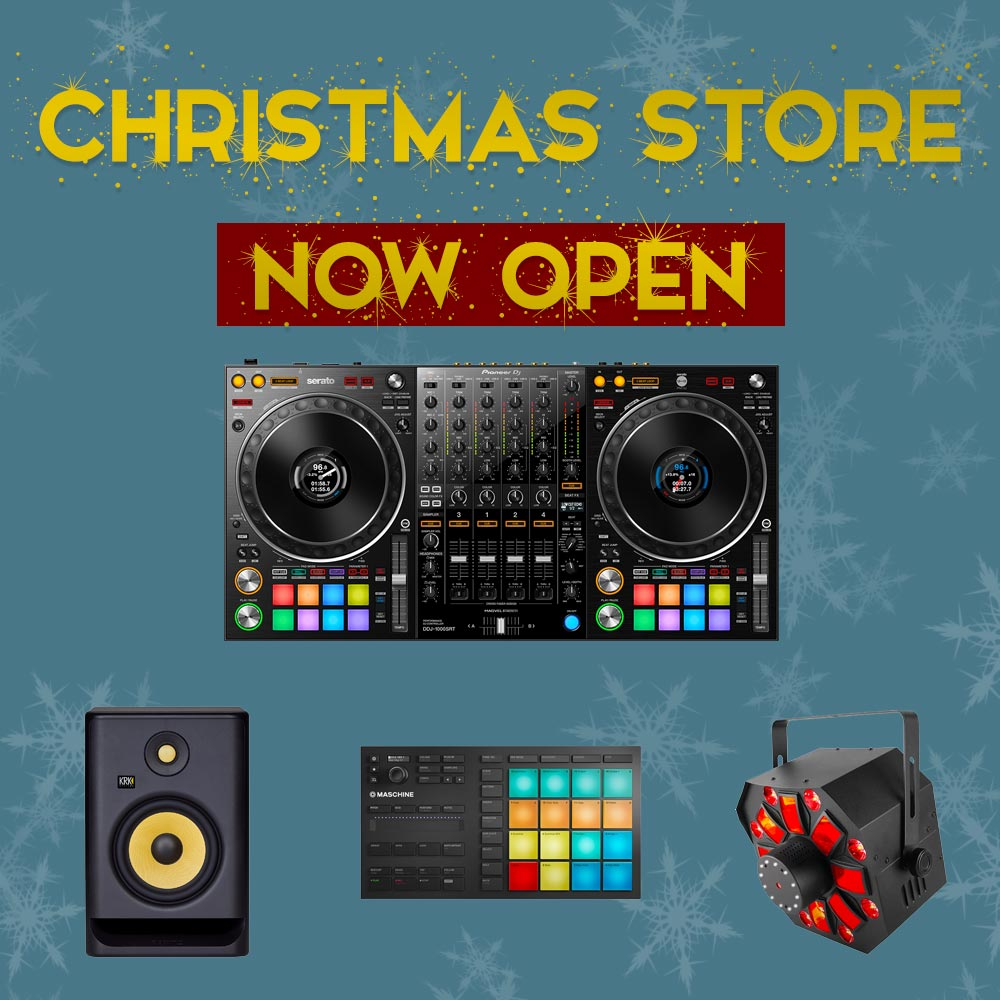 DJ Equipment Christmas