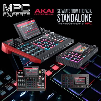 New Akai MPCX & MPC Live Standalone Music Production Center