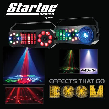 American DJ Boom Box Lighting Effects