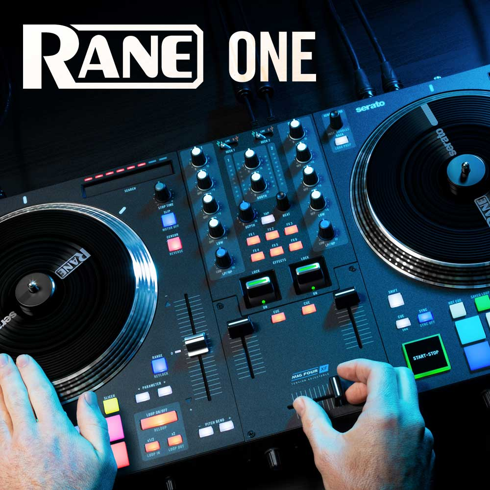 Rane One at djkit