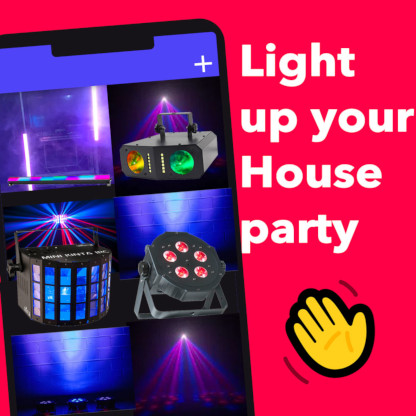 House Party Lighting Effects