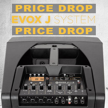 RCF Evox J Series Price Drop