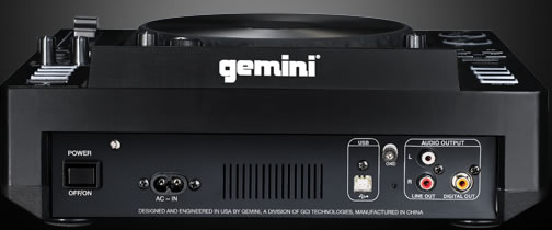 Máy Dj Gemini CDJ-700 Professional Media Player