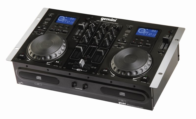 Máy Dj Gemini Cdm-3200 Professional Cd Player & Mixer Console