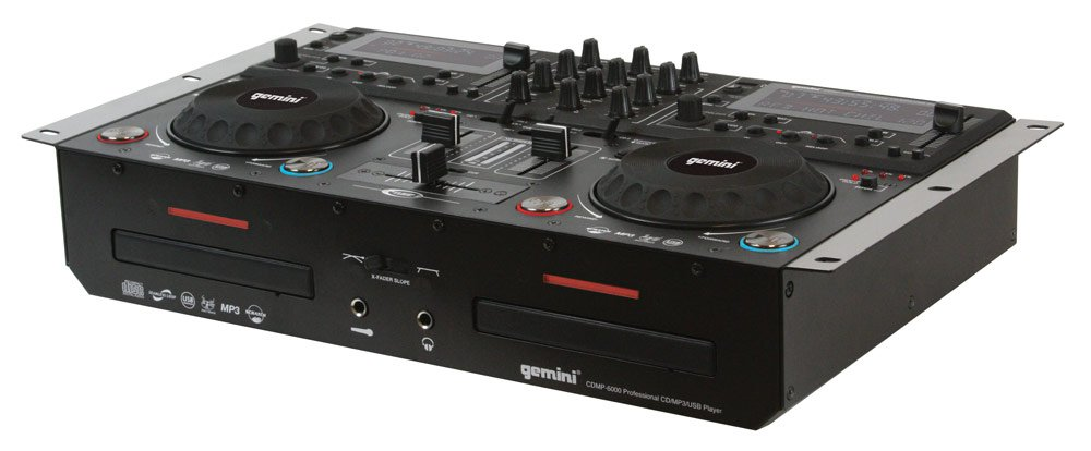 Máy dj Gemini cdmp-6000 Dual CD/ MP3/ USB Mixing Console