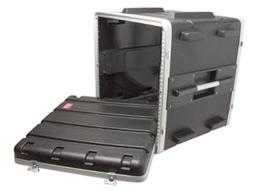 DJKITKASE 8u ABS Rack Case