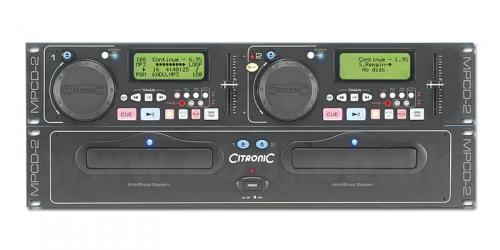 Citronic MPCD-2 Dual MP3/CD Player