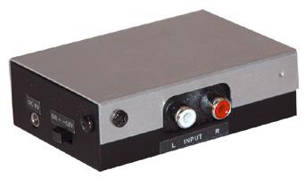 Pre-amplifier for turntables