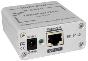 CAT 5 component video (RGB) transmitter