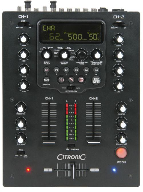 table de mixage citronic