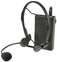 UHF Wireless Trasmitter with Headset Mic, 863.8MHz