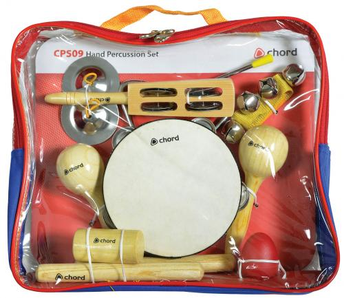 Chord Hand Percussion 9 Piece Set