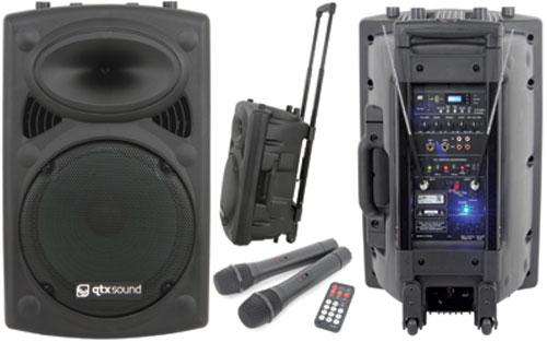 QTX Sound PA+ Portable Battery PA System