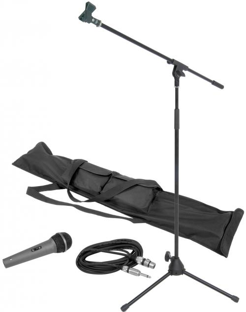 Microphone and Stand Kit Complete with Carry Bag