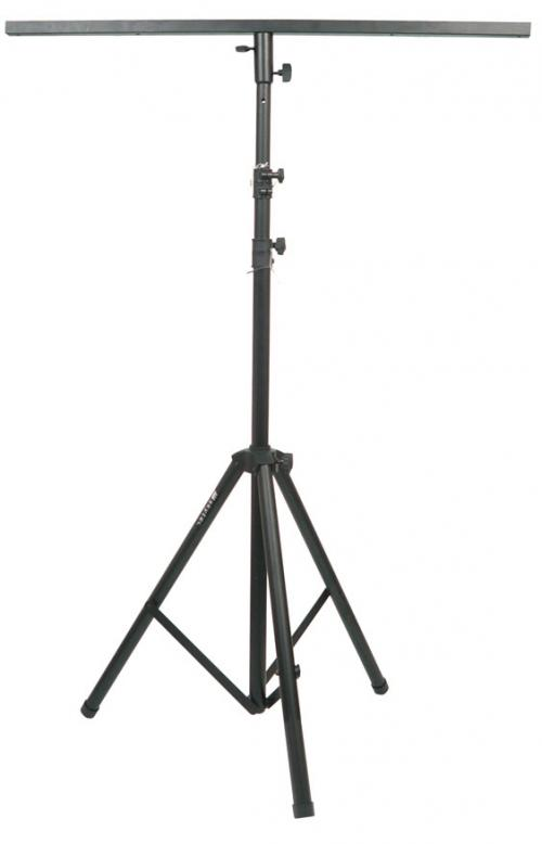 Black Pro Lighting Stand with Square Bar