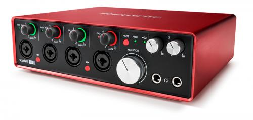 Focusrite Scarlett 18i8 2nd Generation Audio Interface