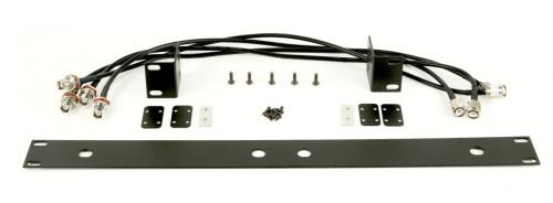 "Q-Audio QWM RK 1960 V2 HH BP Dual Rack Mount Kit 1U 19"" Bracket Adaptor"