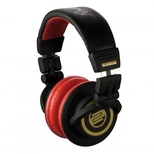 Reloop RHP-10 Cherry Black Headphones