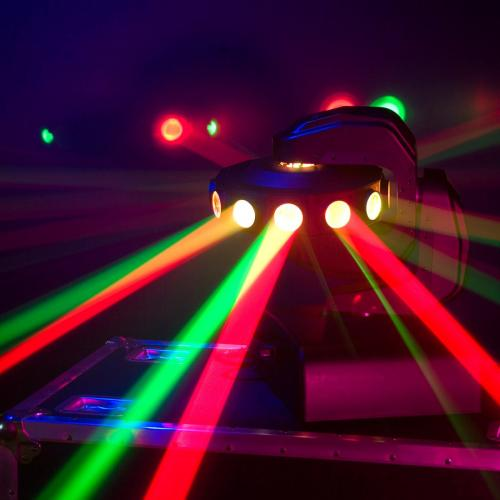 American Dj Accu Led Ufo Moving Head Djkit Com