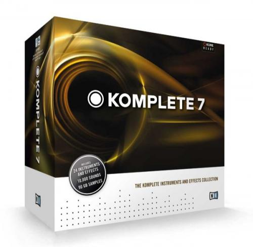 Native Instruments Komplete 7 Update