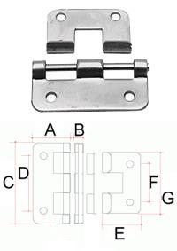 Cabinet accessories - Lift off hinge