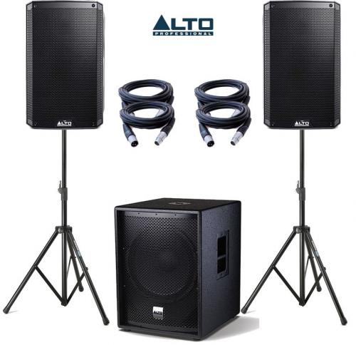 Alto Truesonic TS215A & SUB18A Power Pack 1 - 3400W Active Sound System