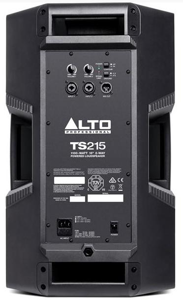Alto Truesonic Ts215a Amp Ts215s Power Pack 4 4700w Active