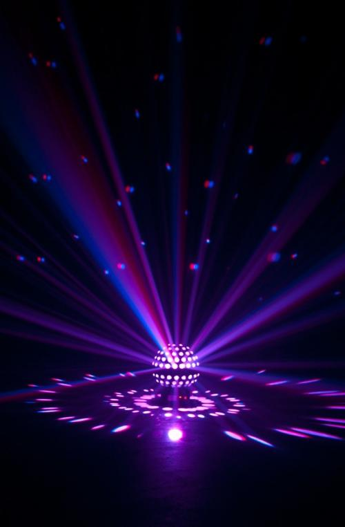 American Dj Starburst Rgbwa Uv Led Mirror Ball Effect