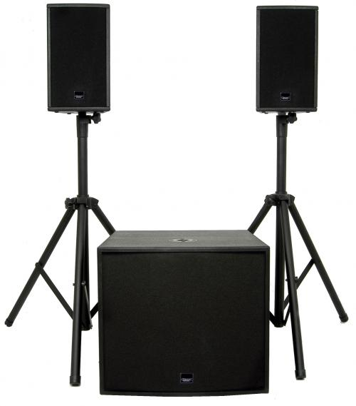 Citronic SP-500A Active Speaker System - 500W rms
