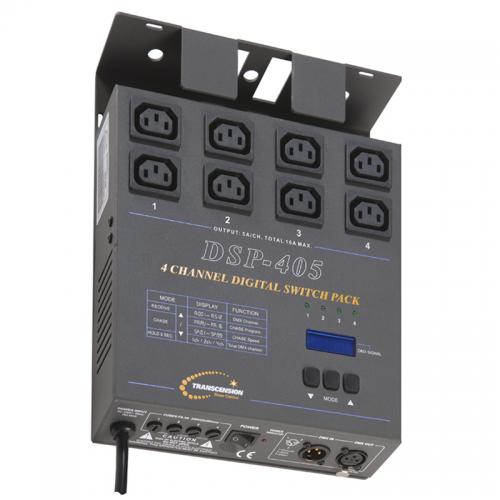 Transcension DSP-405 DMX Switch Pack