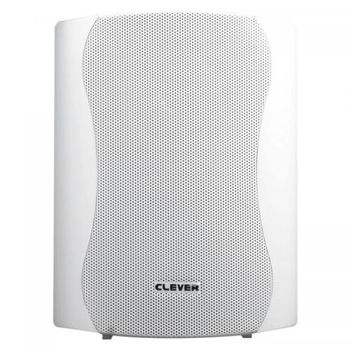Clever Acoustics ACT 35 White Powered Speakers (Pair)