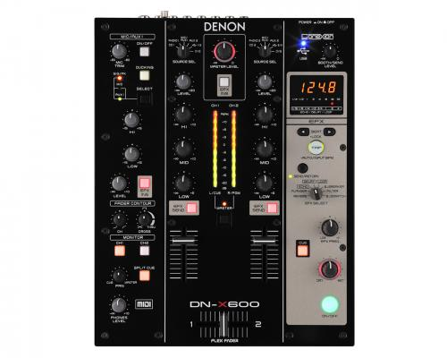 Denon DN-X600 Digital DJ Mixer - MIDI Interface with Sound Card