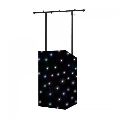 Equinox MICRON DJ Booth & LED Starcloth CW Package