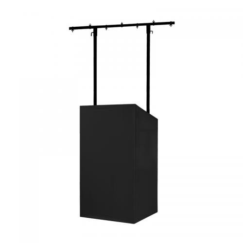 Equinox MICRON DJ Booth Black Cloth
