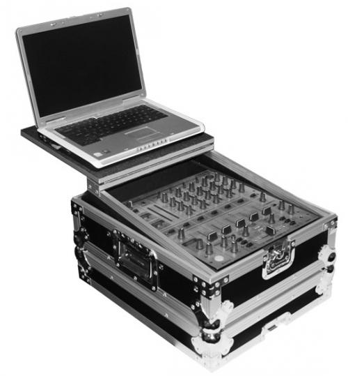 "TIP 12"" Mixer with Laptop Tray Flight Case"
