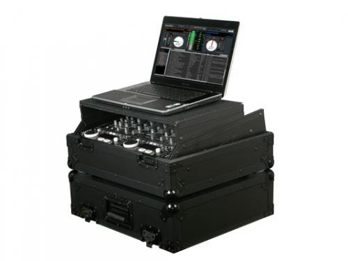 "Odyssey Black Label 19"" Rack Case with Glide Style - FZGS10BL"