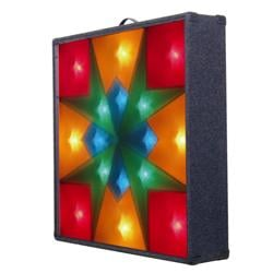 Maltese Cross Carpet Covered Light Screen With 4 Channels And Carry Handle