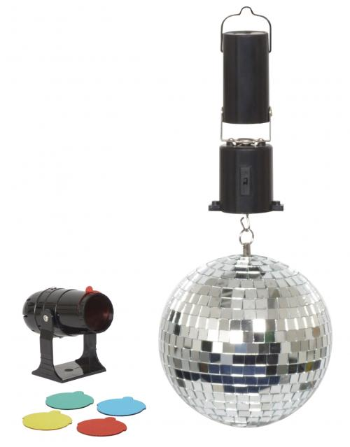 Cheetah 6 Inch Mirror Ball Party Set