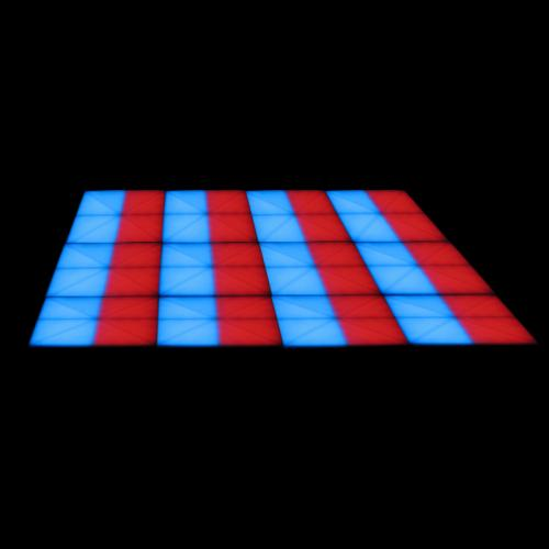 LEDJ Funky Floor Panel LED Dance Floor 1m x 1m Panels