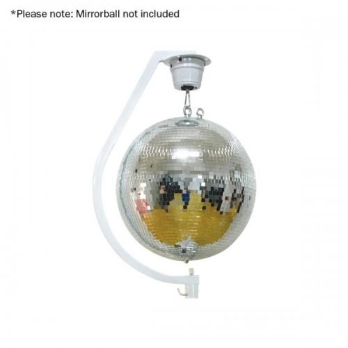 Curve Mirror Ball Hanging Bracket up to 30cm