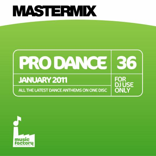 Mastermix Pro Dance 36 - January 2011