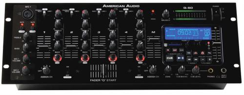 "American DJ Q SD 19"" DJ Mixer with Built in SD Player"